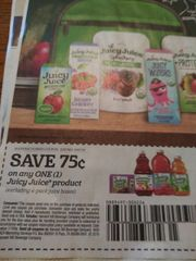 10 Coupons $.75/1 Juicy Juice Product (Excludes 4-Pack) Exp.10/7/19