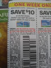 10 Coupons $10/1 Non-Drowsy claritin Liqui-Gels (60ct) Or Claritin tablets (70ct+) Exp.9/1/19
