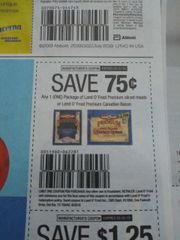 10 Coupons $.75/1 Land O'Frost Premium SLiced Meats Or Land O'Frost Premium Canadian Bacon Exp.9/30/19