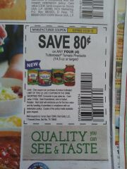 10 Coupons $.80/4 Tuttorosso Tomato Products (14.5oz+) Exp.10/26/19