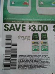 10 Coupons $3/1 Dulcolax 12oz Liquid Exp.10/13/19