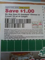 10 Coupons $1/1 Cacique Cheese or Cream 10oz+ Exp.10/31/19