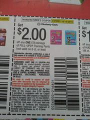 10 Coupons $2/1 Pull-Ups Training Pants (Not valid on 6ct or Less) Exp.10/13/19