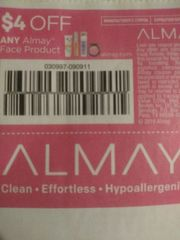 10 Coupons $4/1 Almay Face Product Exp.11/2/19