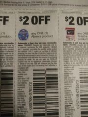 10 COupons $2/1 Abreva Product Exp.10/20/19