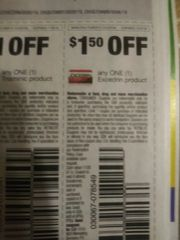10 COupons $1.50/1 Excedrin Product Exp.12/3/19
