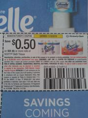 10 Coupons $.50/1 Scott bath Tissue 6 Rolls+ Exp.11/3/19