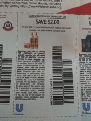 10 Coupons $2/1 Suave Professionals Natural Hair Product (Excludes Twin Packs and ets) Exp.11/17/19