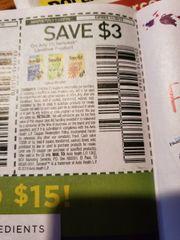 10 Coupons $3/1 Senokot Laxative Product Exp.11/30/19