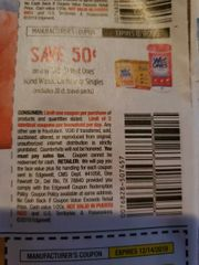 10 Coupons $.50/1 Wet Ones Hand Wipes, Canisters or Singles (Excludes 20ct Travel) Exp.12/31/19
