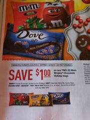 10 Coupons $1/2 Mars Wrigley Holiday Bags (3oz+) Exp.12/25/19