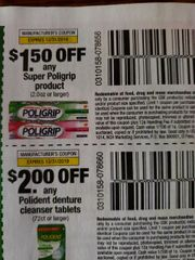 10 Coupons $1.50/1 Super Poligrip Product (2.0oz+) Exp.12/31/19