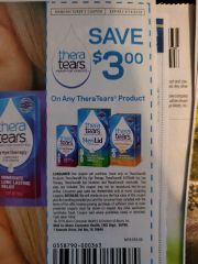 10 Coupons $3/1 TheraTears Product Exp.3/14/20