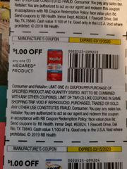 10 Coupons $1/1 MegaRed Product Exp.3/15/20