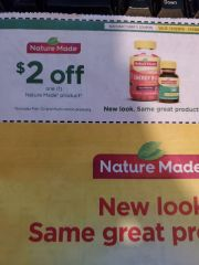 10 COupons $2/1 Nature Made Product Exp.1/15/20