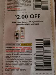 10 Coupons $2/1 Olay Serums Or Eyes Product Exp.1/25/20