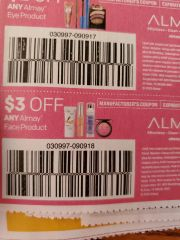 10 Coupons $3/1 Almay Face Product Exp.2/1/20