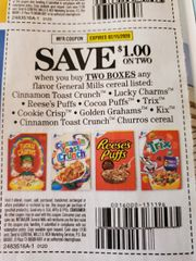 10 Coupons $1/2 General Mills Cereals Listed (SEE PIC) Exp.2/15/20