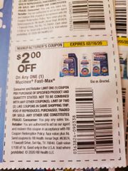 10 Coupons $2/1 Mucinex Fast-Max Exp.2/16/20