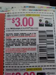 10 Coupons $3/2 Kotex Pads or Liners (Excludes Liners 14-22ct or Pads and liner ets) Exp.2/8/20