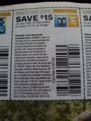 10 Coupons $15/1 Nicorette Product 72ct+ Exp.1/31/20