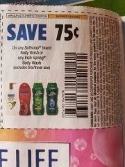 10 Coupons $.75/1 Softsoap Body Wash or Any Irish Spring Body Wash Exp.2/1/20
