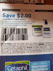 10 Coupons $2/1 Cetaphil Product (Excludes 4oz or Less- Daily Facial Cleanser, Gentle Skin Cleanser, Moisturizing Lotion, Moisturizing Cream, Bars & Baby) Exp.2/29/20