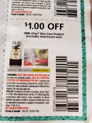 10 Coupons $1/1 Olay Skin Care Product Exp.2/22/20