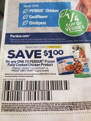 10 Coupons $1/1 Perdue Frozen Fully Cooked Chicken Product Exp.3/8/20