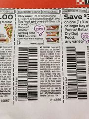 10 Coupons BOGO Beneful Wet Dog Food 9-10oz Tub or (1) 3ct/3oz Sleeve (Up To $2.19) Exp.2/26/20