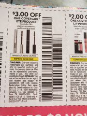 10 Coupons $3/1 Covergirl Eye Product (Excludes 1-kit Shadows) Exp.2/22/20