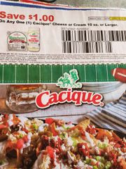 10 Coupons $1/1 Cacique Cheese or Cream 10oz+ Exp.3/31/20