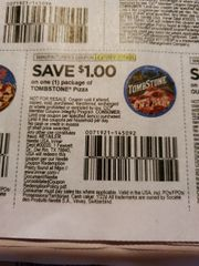 10 Coupons $1/1 Tombstone Pizza Exp.2/29/20