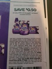 10 Coupons $.50/1 Snuggle Product Exp.2/23/20