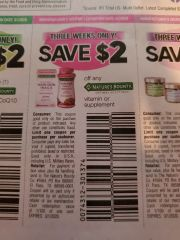 10 Coupons $2/1 Nature's Bounty Optimal Solutions Vitamin or Supplement Exp.3/1/20