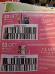 10 Coupons $2/1 Almay Eye Product Exp.3/7/20