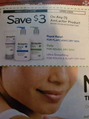 10 Coupons $3/1 AmLactin Product (Excludes Foot Repair Cream) Exp.2/29/20