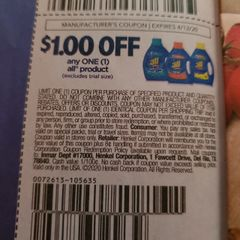 10 Coupons $1/1 All Product Exp.4/12/20
