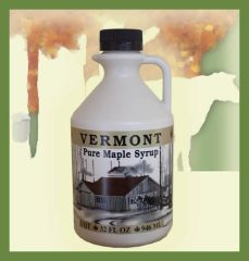 1 Quart Pure Vermont Maple Syrup