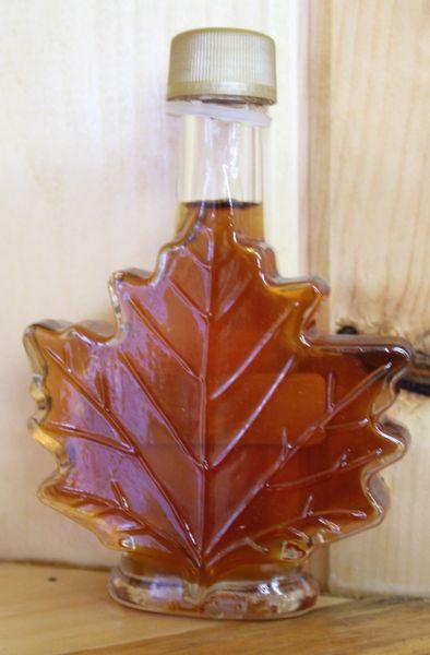 500ML Glass Leaf