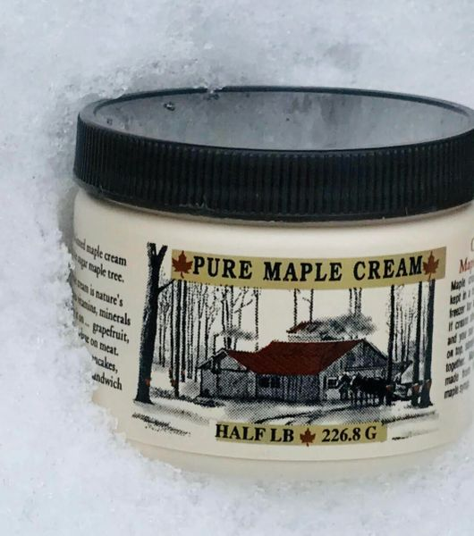 1/2 LB Maple Cream