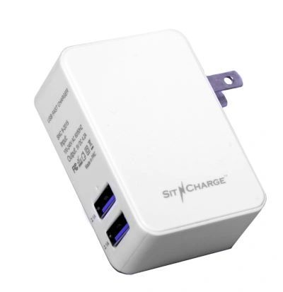 Dual USB Charger 4.2 AMP. 2.1A each port