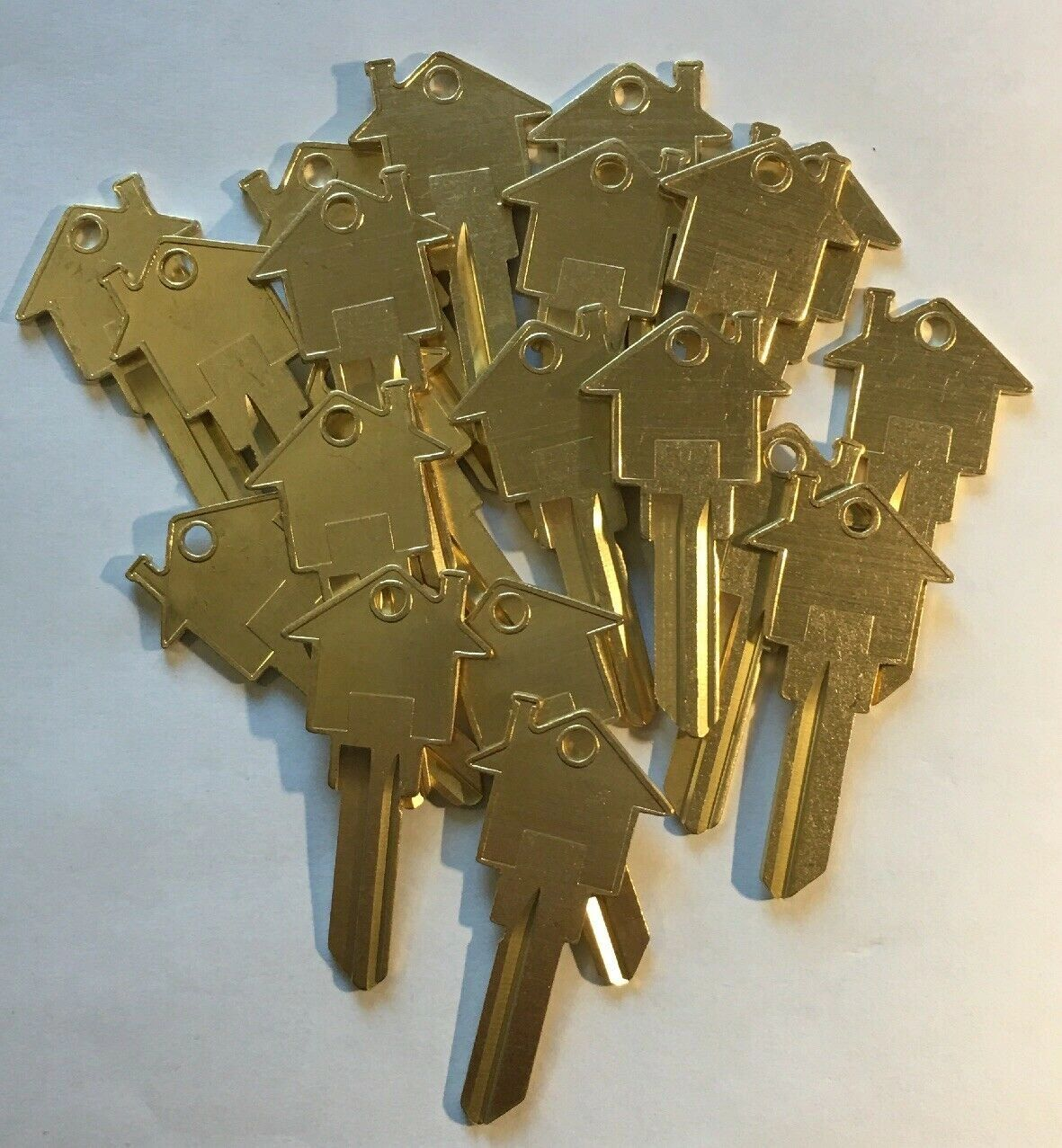 Real Estate Agent Marketing Ideas! House shaped keys for your clients! Great inexpensive advertising