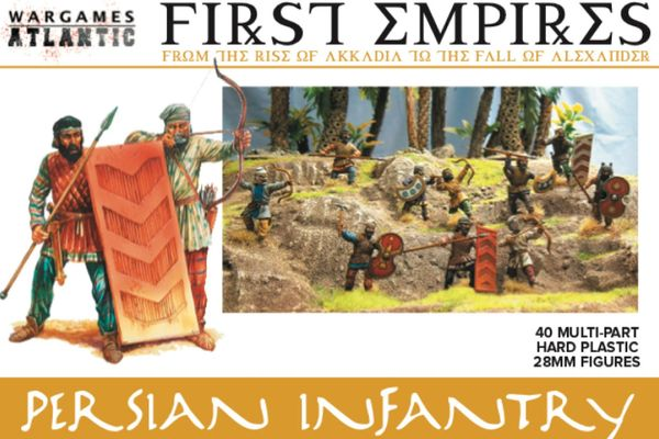 Wargames Atlantic Persian Infantry (40 models)