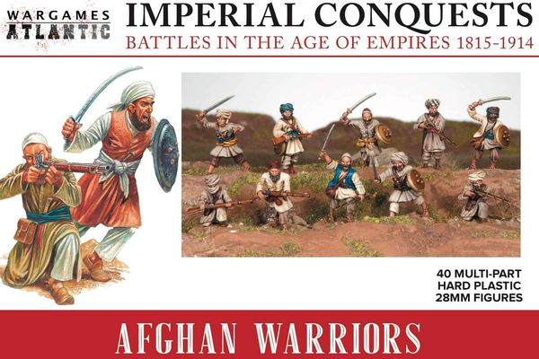 Wargames Atlantic Afghan Warriors (40 models)