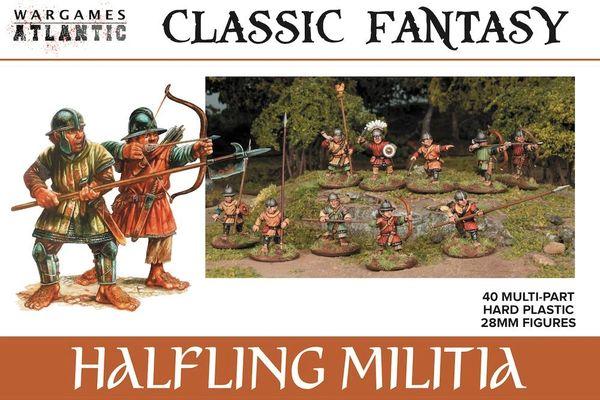 Wargames Atlantic Halfling Militia (40 Miniatures)