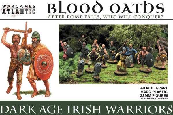 Wargames Atlantic Dark Age Irish Warriors (30 models)