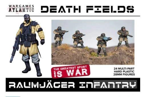 Wargames Atlantic Raumjager (24 hard plastic models)