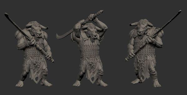 Minotaur Brute