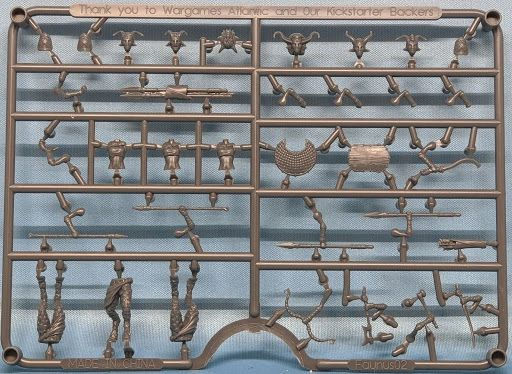 Faun Female Sprue (3 models)